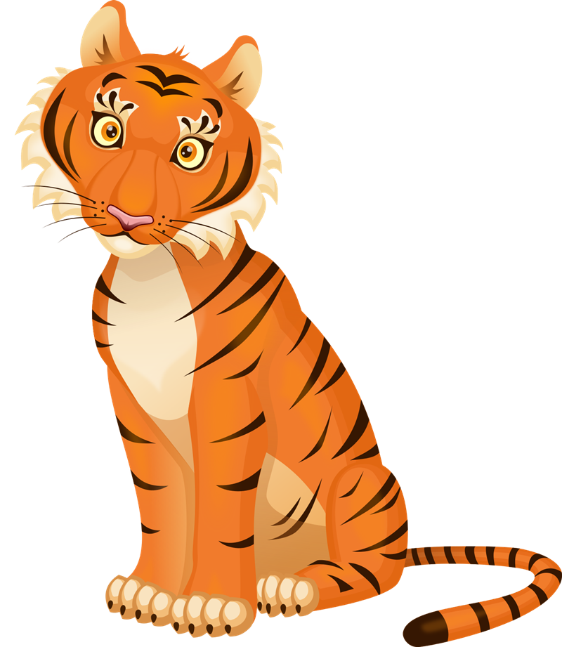 Free to Use & Public Domain Tiger Clip Art.