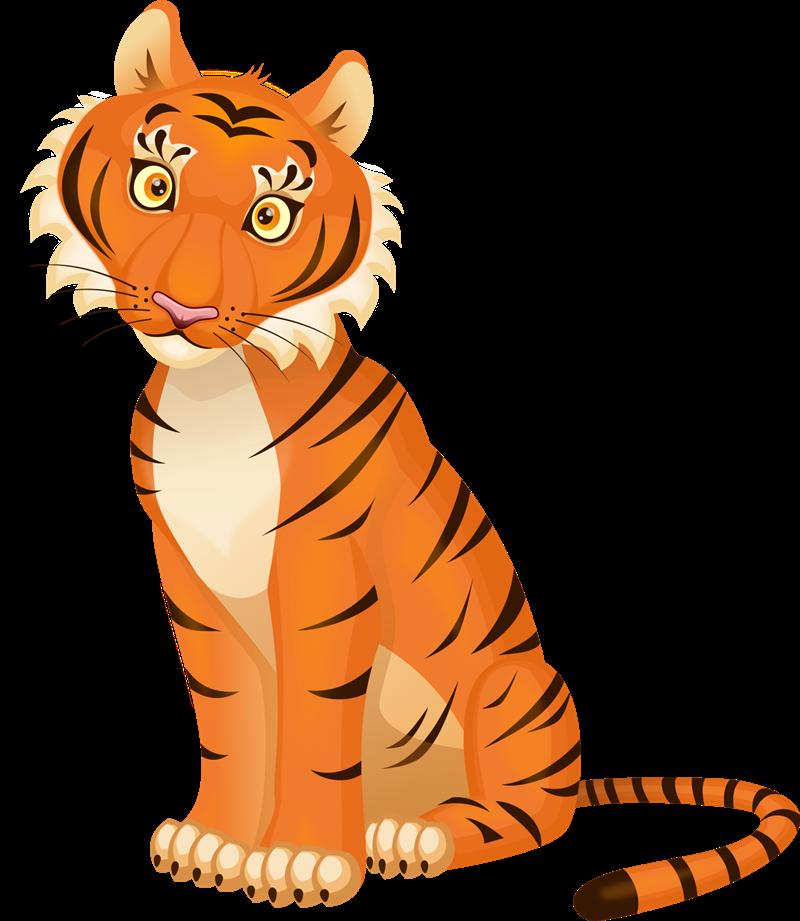 Free to Use & Public Domain Tiger Clip Art.