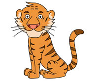 Free Tiger Clipart.