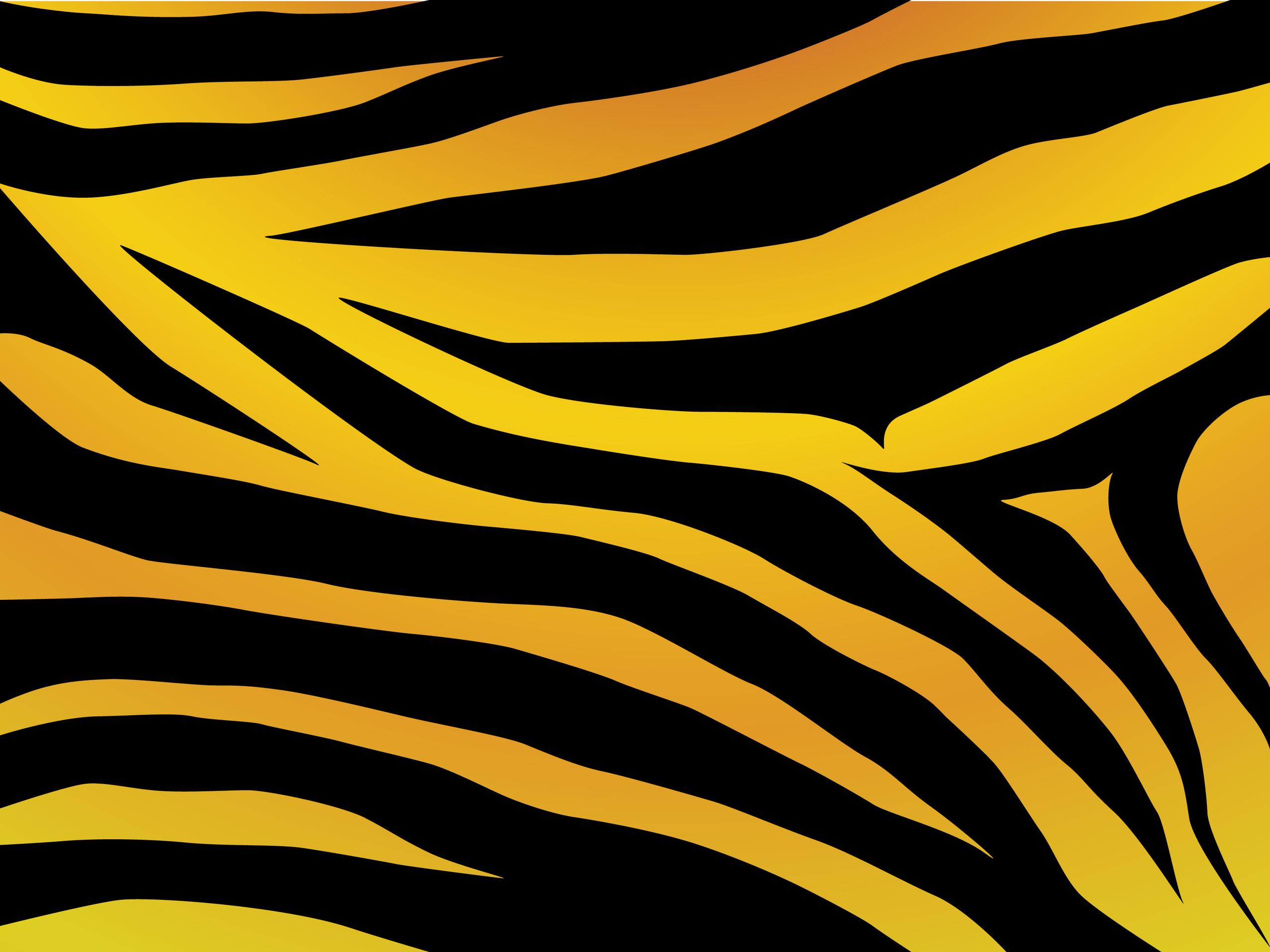 Tiger Print Clip Art.