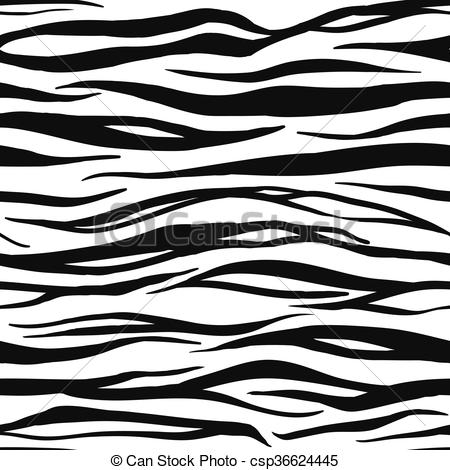EPS Vector of Tiger Print Pattern.
