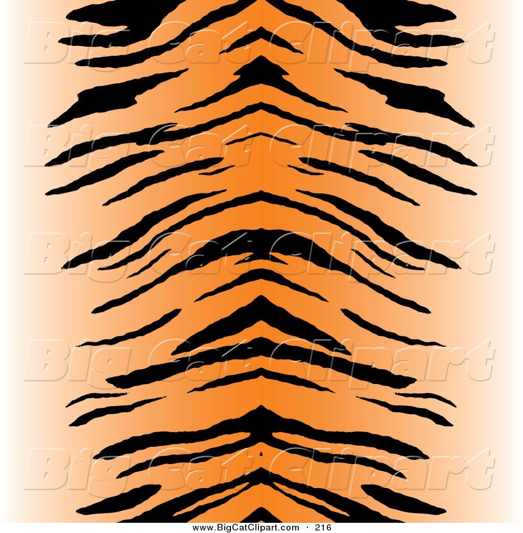 Tiger Print Clipart.