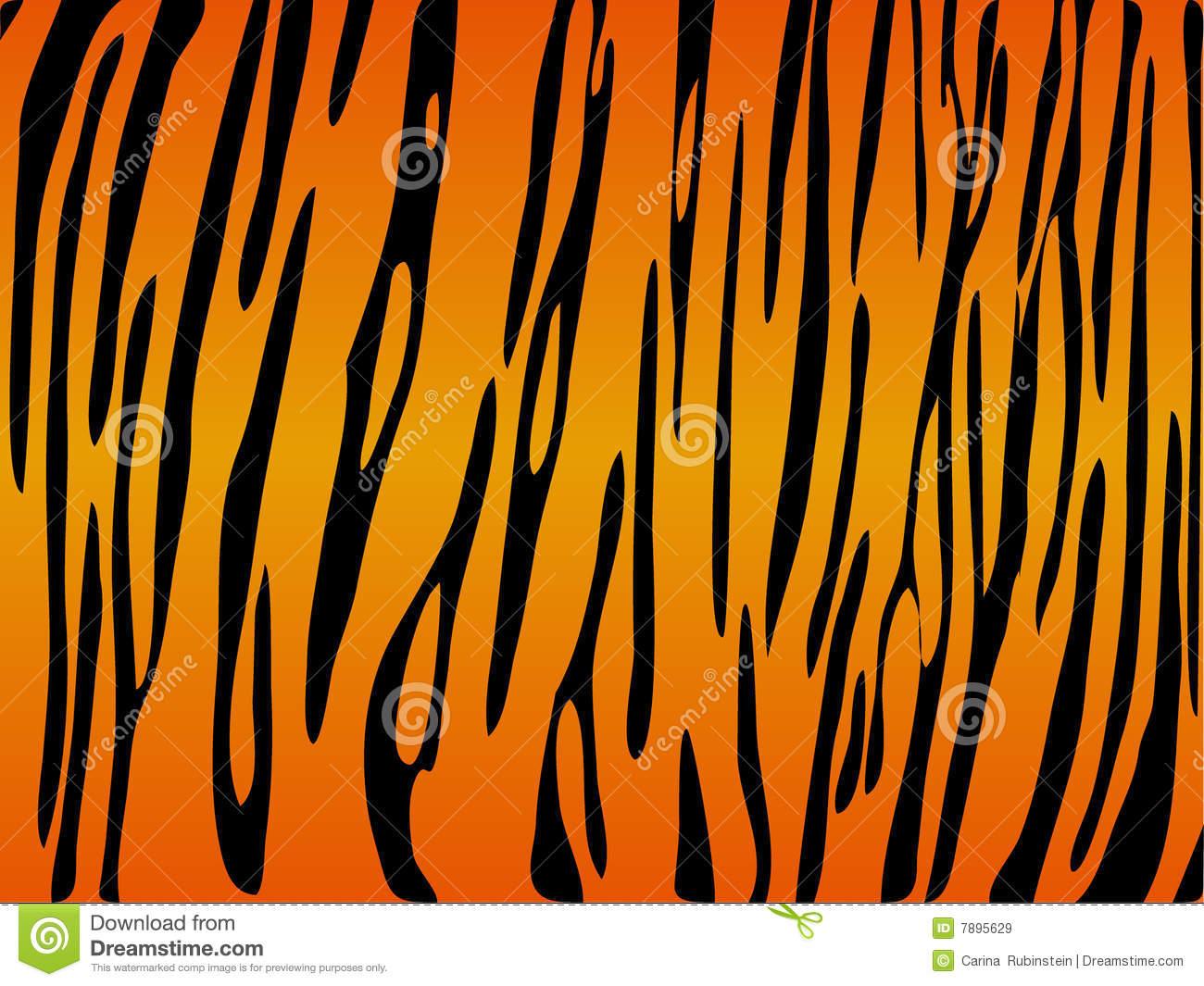 Tiger Print Clipart#2185025.