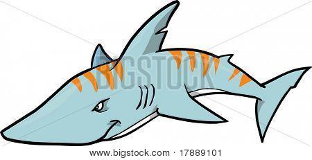 Tiger Shark Clip Art.