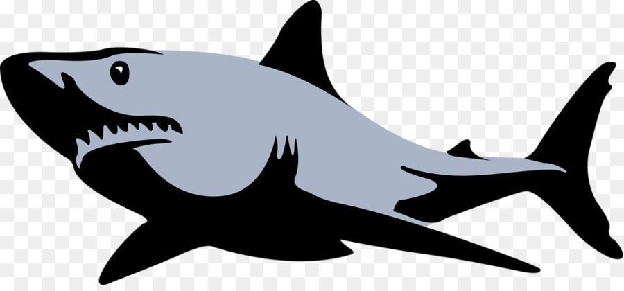 Free Tiger Shark Silhouette, Download Free Clip Art, Free Clip Art.