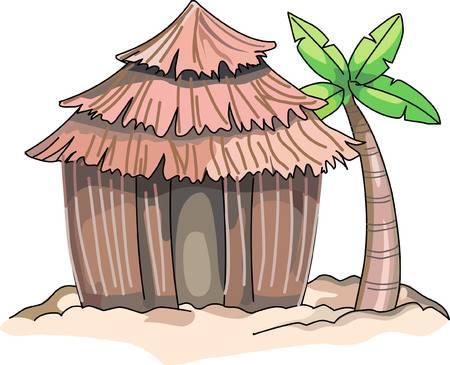 Tiki hut clipart 1 » Clipart Station.