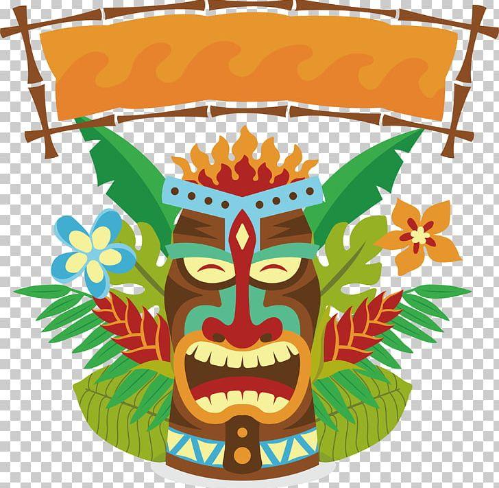 Tiki Mask PNG, Clipart, Art, Box, Box Vector, Encapsulated.