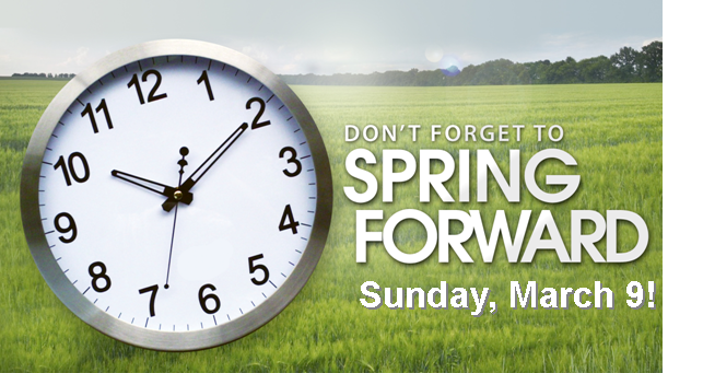 Spring Forward 2014 Time Change Clipart (35+).