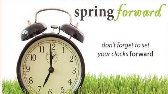 Did You Remember to Spring Forward?.