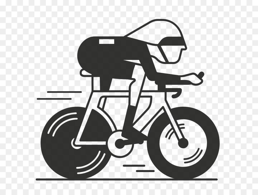 Bicycle Cartoon.