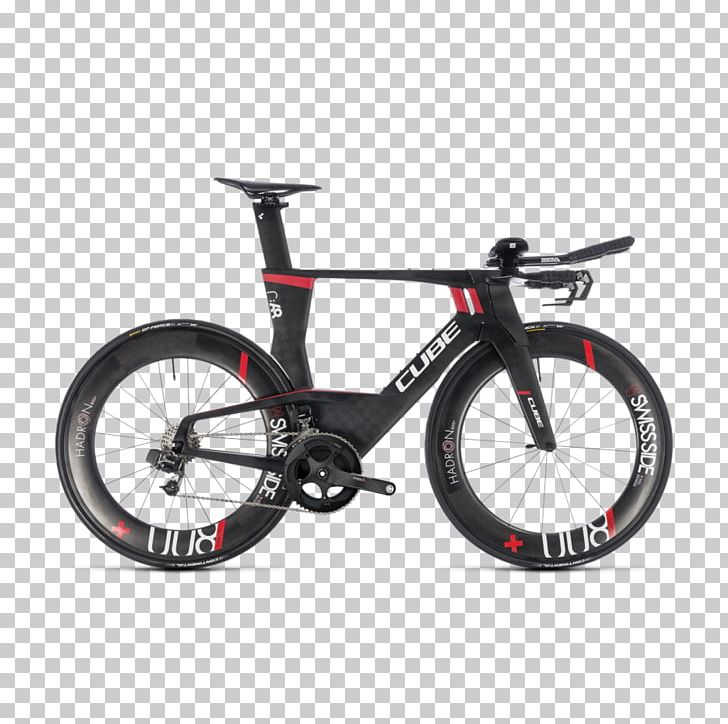 Time Trial Bicycle Cube Bikes Triathlon Equipment PNG.