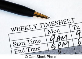 Timesheet clipart 7 » Clipart Station.