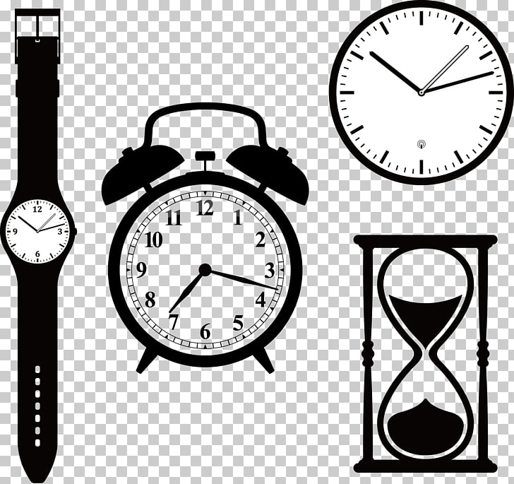 Clock face Watch Alarm clock, Timing tool watch PNG clipart.