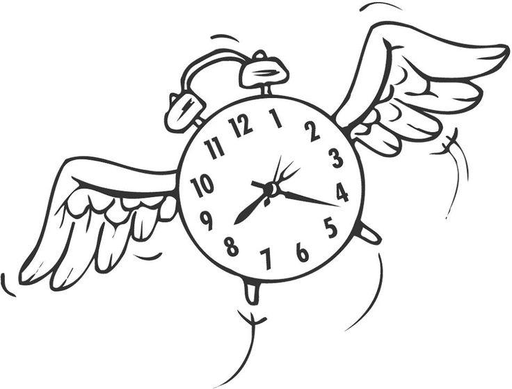 Time Flies Clip Art   Clipart Free Download.