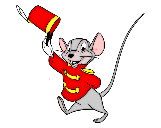 Timothy Q. Mouse The Ringmaster Clip art.