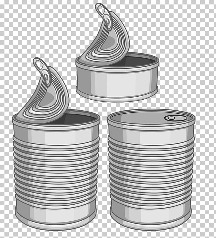 Tin can Stock photography Canning Illustration, Iron canned.