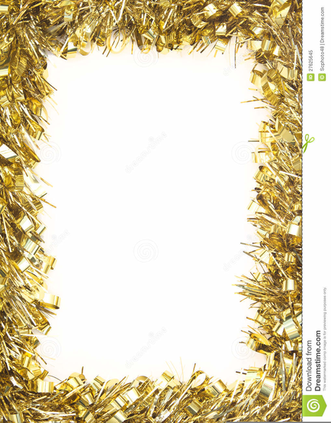Christmas Tinsel Clipart Free.
