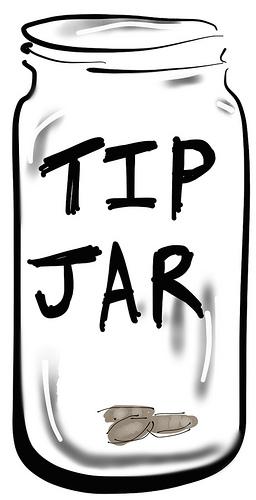 Tip jar clipart » Clipart Station.