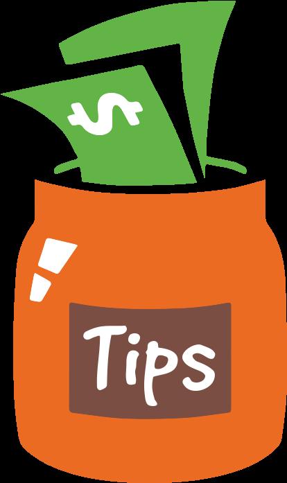 Tip Jar Clipart.