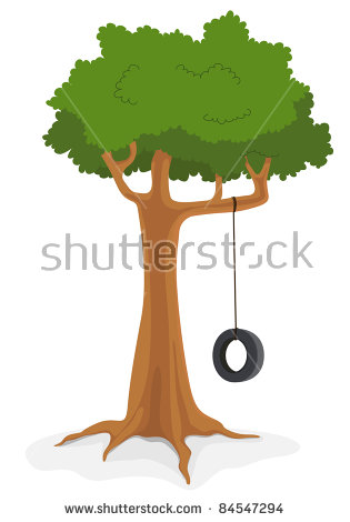 Tire Swing Stock Images, Royalty.