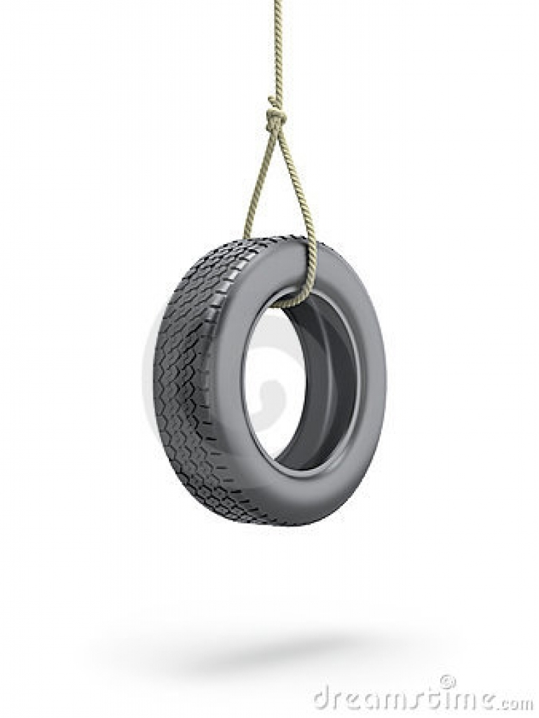 tire swing 3d illustration stock photography image 25967412 High.