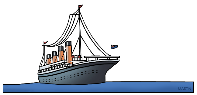 68 Titanic free clipart.