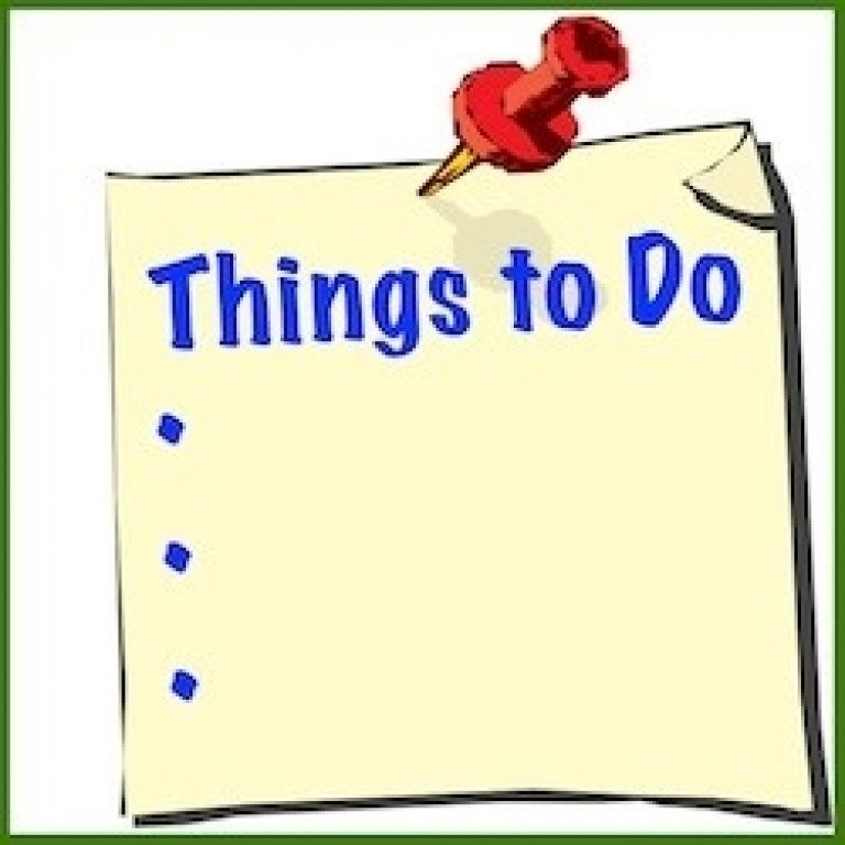 To Do List Clipart Intended For Things To Do List Clipart.
