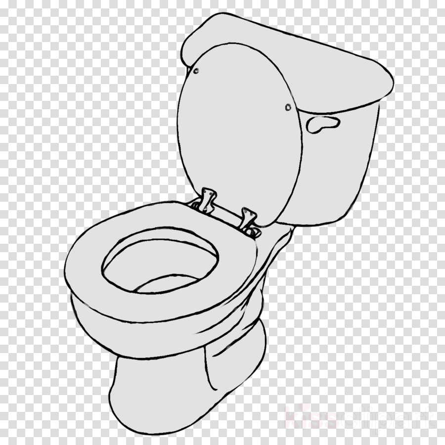 Bathroom Cartoon clipart.