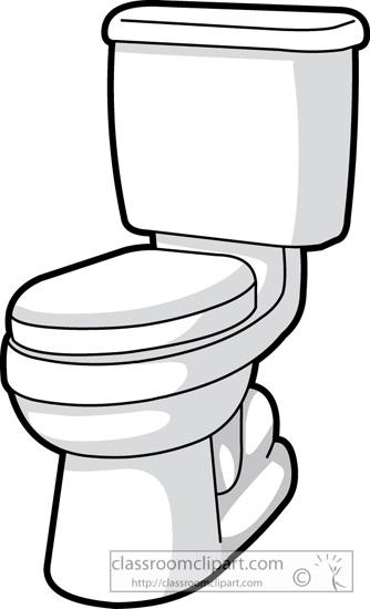 Bathroom Toilet Clipart.