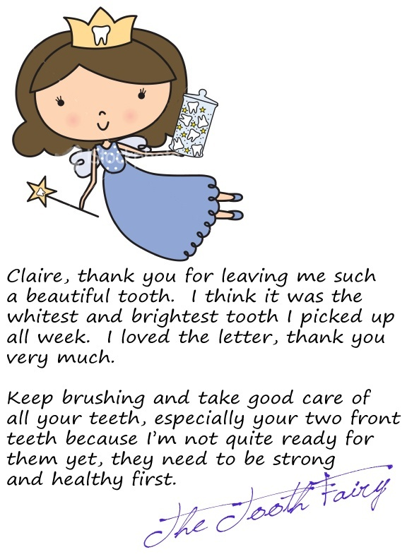 Free tooth fairy certificate template fotos35 tooth fairy letter from the tooth fairy template image collections templates pronofoot35fo Image collections