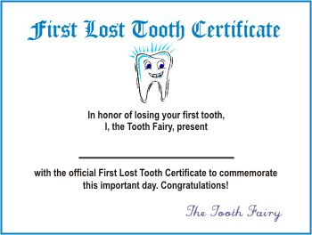 Clipart tooth fairy certificate clipground tooth fairy certificate spiritdancerdesigns Image collections