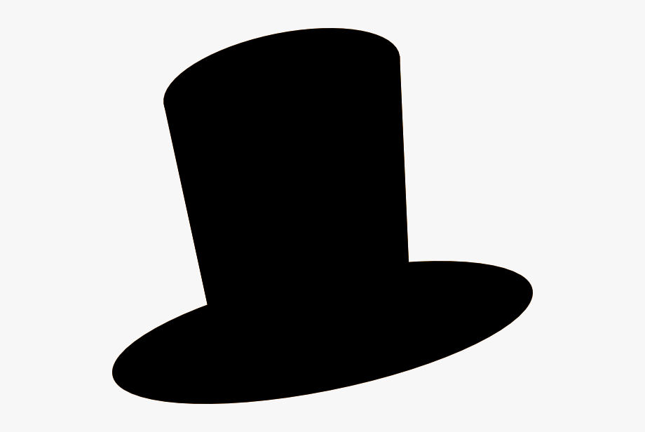 Hat Black And White Top Hat Clipart.