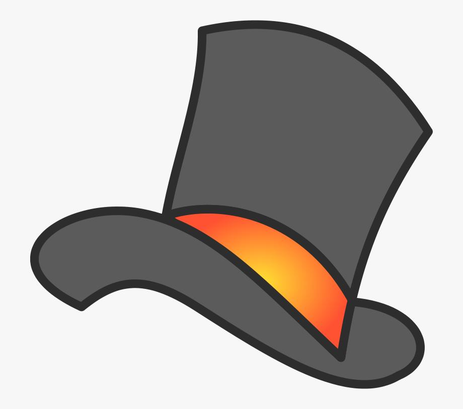 Top Hat Silk Hat Clipart Free Clip Art Image.