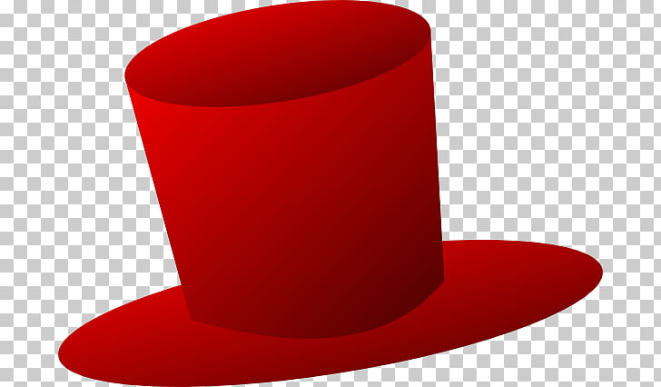 Top hat Red Hat Society , top hat PNG clipart.