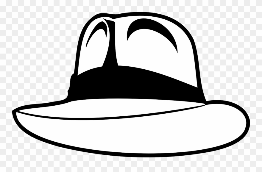 Straw Hat Clipart Topi.