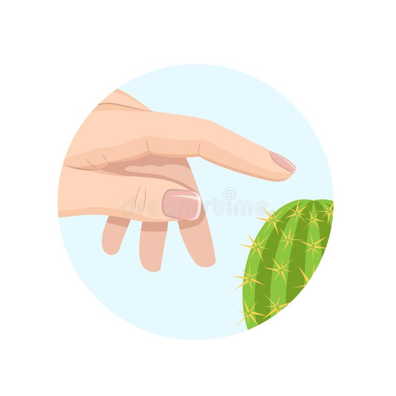 Skin Touch Stock Illustrations.