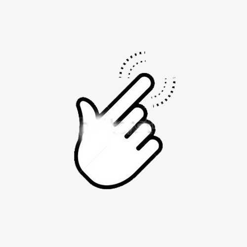Finger Touch State, Finger Press Gesture, Touch State, Hand PNG.