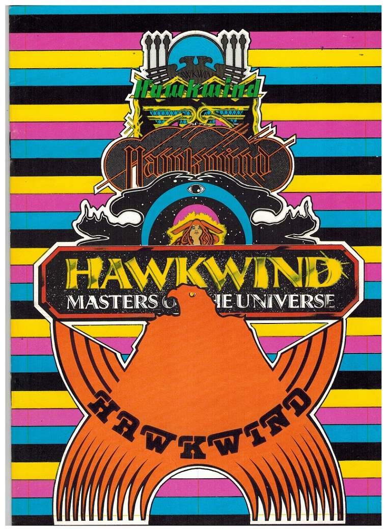 Details about HAWKWIND MASTERS OF THE UNIVERSE 1979 TOURBOOK VF COMPL.