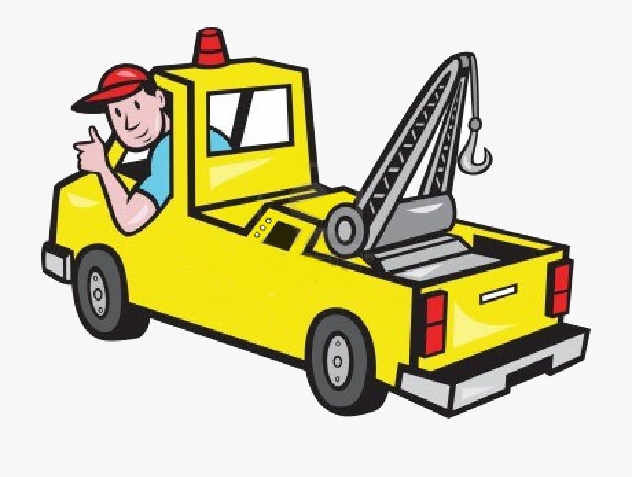 Mechanic Tow Truck Clipart.