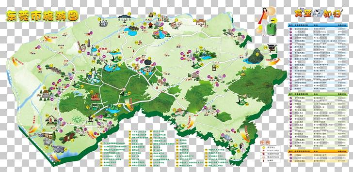 Changan, Dongguan Gaobu, Guangdong Humen Town Map Tourism.