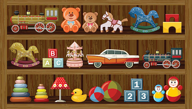 Best Toy Store Illustrations, Royalty.