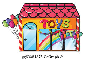 Toy Store Clip Art.