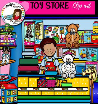 Toy Store clip art set.