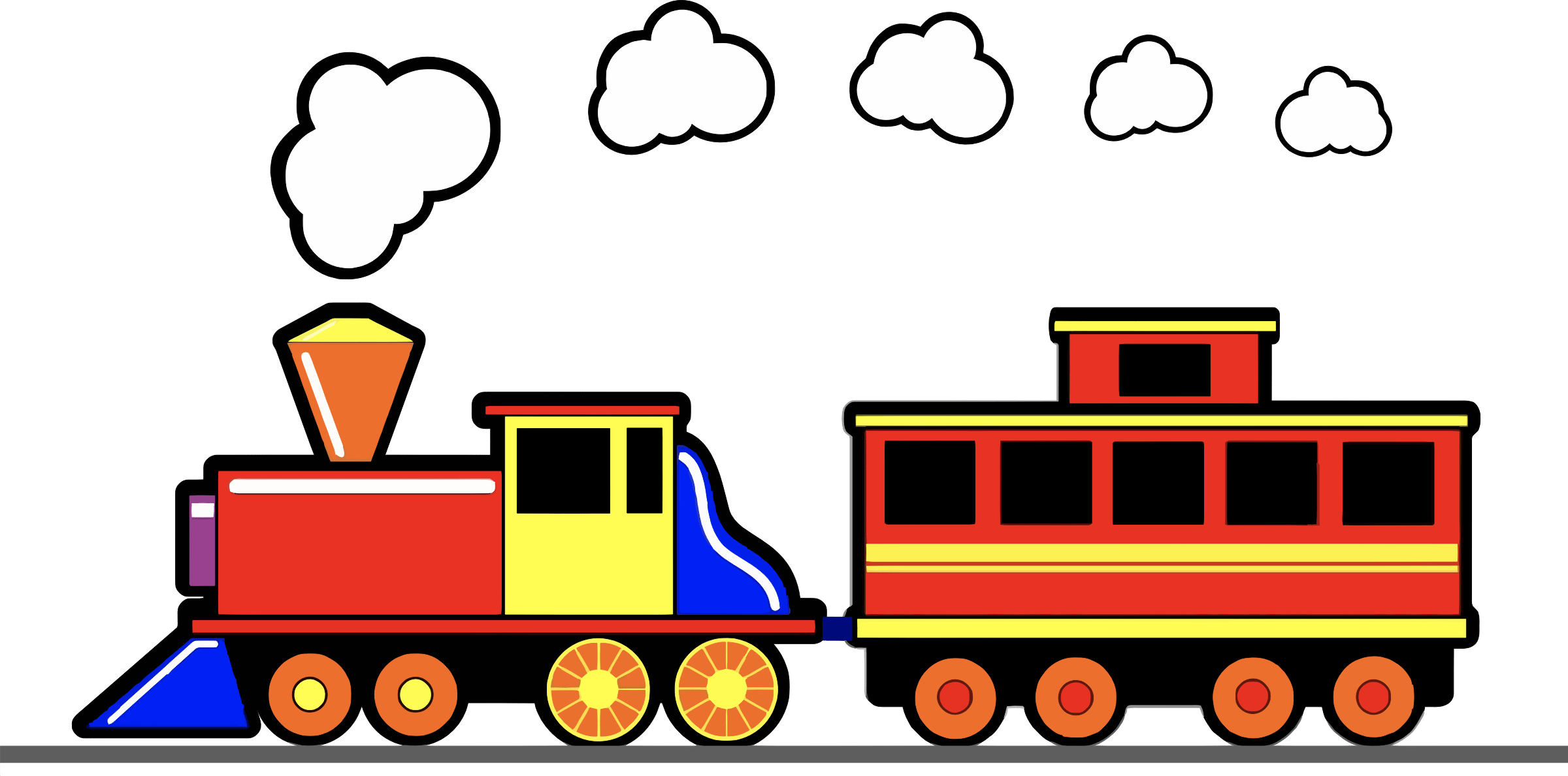 Toy train clipart 4 » Clipart Portal.