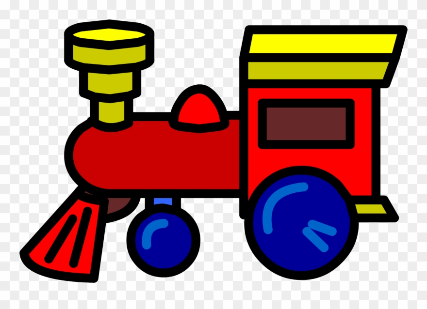 Locomotive Clipart Toy Train.