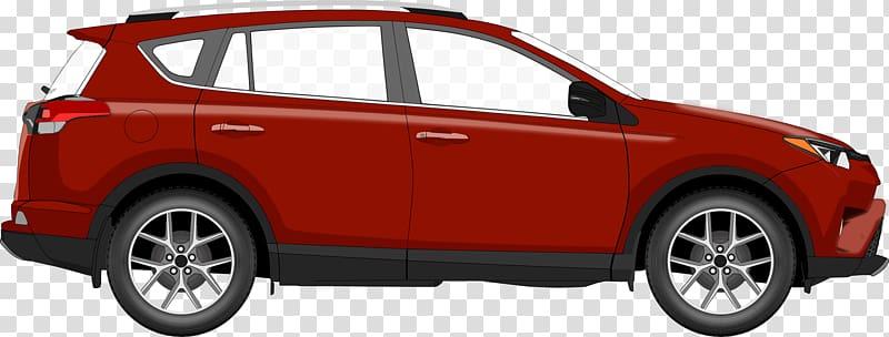 Sport utility vehicle Car Open Toyota RAV4, car transparent.