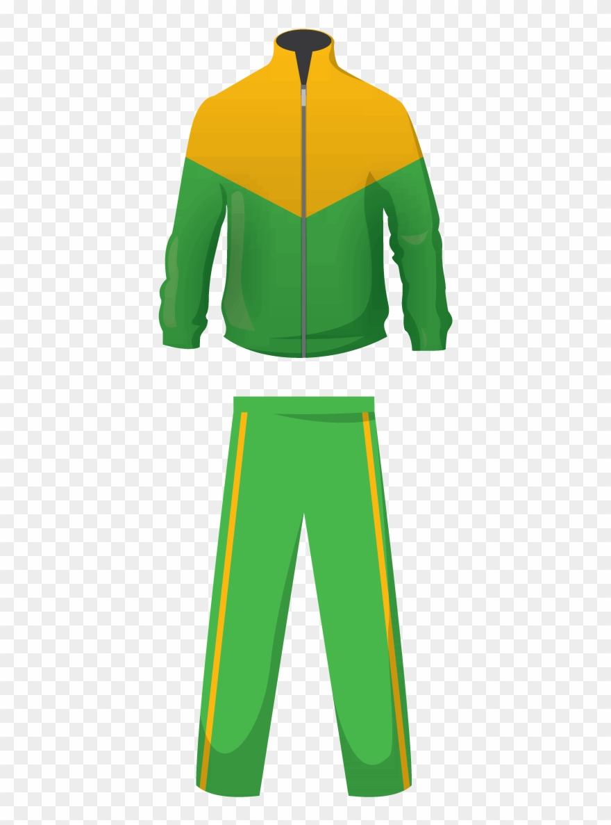Sports Clipart Tracksuit.