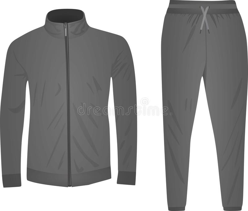 Tracksuit Set Stock Illustrations.