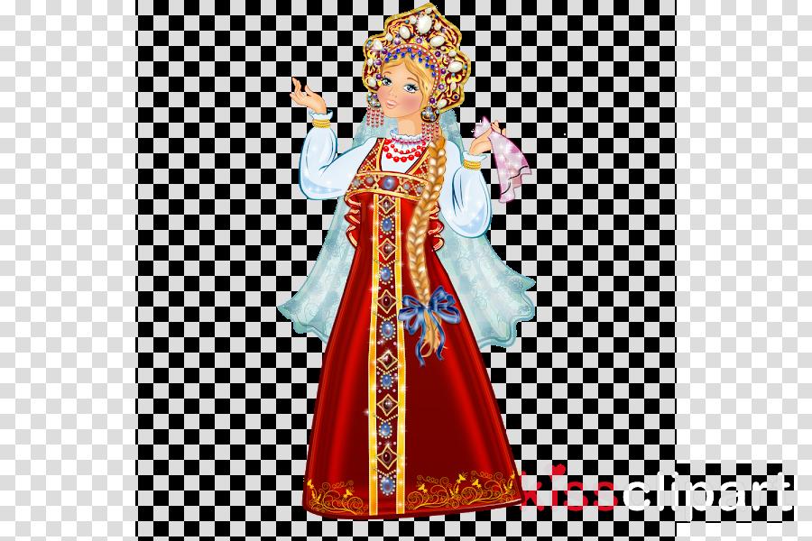 tradition figurine costume design statue costume clipart.