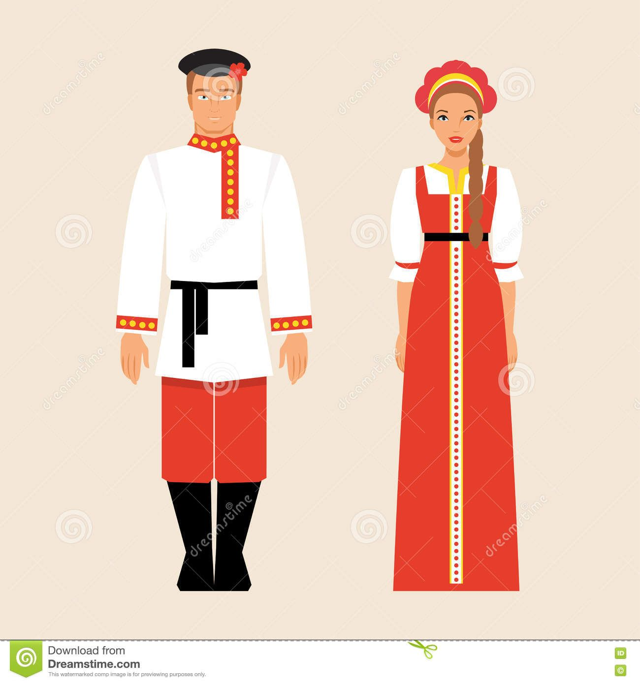 Image result for russian clothing clipart.